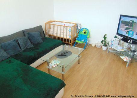 DELTA - Priestranný 2-izbový byt s balkónom na predaj Kežmarok - Juh