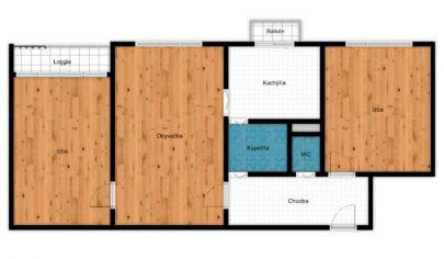3 izbový byt v pôvodnom stave, ul. Sibírska, Bratislava -Nové Mesto
