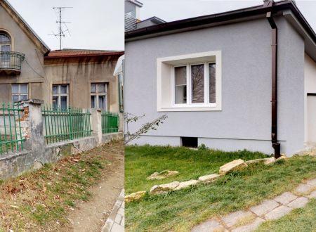 Dva rodinné domy /CENTRUM, pozemok 1.042 m2/ Piešťany