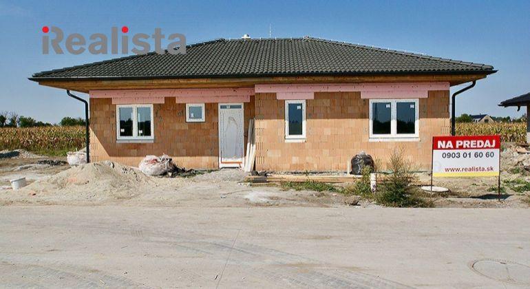Samostatne stojaci 4i rodinný dom vo výstavbe - Lehnice