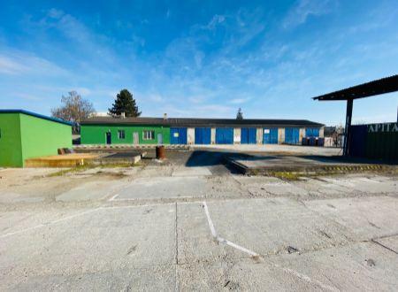 APEX reality - priemyselný areál 5400 m2 so skladom a administratívnou budovou v Leopoldove