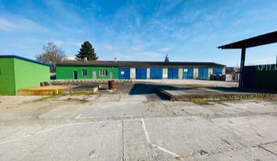 APEX reality prenájom priemyselného areálu s administratívnou budovou a skladom v Leopoldove