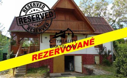Rezervované Raj pre rybárov. Rekreačná chata pri Malom Dunaji, Jahodná.