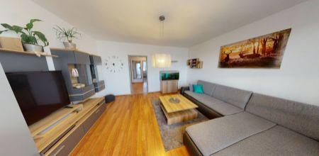 Kompletne zariadený pekný 3 izbový byt v Trenčíne, 74 m2, veľký balkón