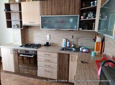 DELTA - 3-izbový byt s loggiou na predaj Sp.Nová Ves - Západ