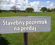 Predám stavebný pozemok v obci Podrečany,okres Lučenec