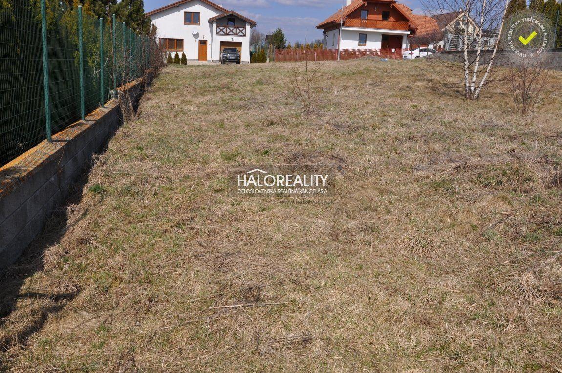 Predaj, pozemok pre rodinný dom 969 m2 Veľká Lomnica - EXKLUZÍVNE HALO REALITY