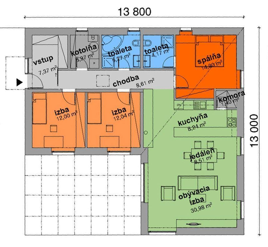 Rodinný dom-Predaj-Nižná Kamenica-139000.00 €