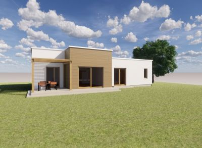 Ponúkame na predaj NOVOSTAVBU : Rodinné domy IVB Nové Rišňovce časť SALAŠE . AKCIA DO 30.04.2020 - Bungalov