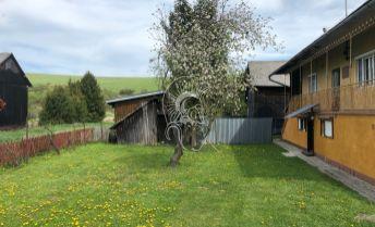 PREDANÉ_Rodinný dom s pozemkom v obci Vislanka