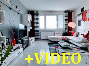 Rezervovaný. Vip Video. Byt 3+1, 73m2 s loggiou, prerobený, Banská Bystrica - Sásová