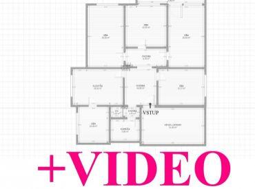 VIP Video 3D. Dom 5+1 s pozemkom 700m2, ideálna polovica, Zvolen - Sliač