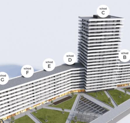 STARBROKERS - PREDAJ 1iz byt Projekt Tehelné Pole, Bratislava - Nové Mesto, Bajkalská ul.