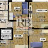 Na predaj 3 izbový byt na Furdekovej ulici v Petržalke