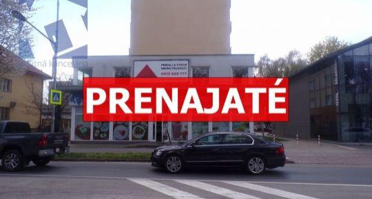 PRENAJATÉ-Na prenájom lukratívny obchodný priestor Prievidza 70051