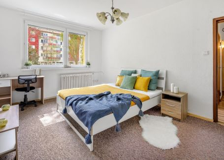 REZERVOVANÉ, 1 izbový slnečný byt na predaj, 36 m2, Podunajské Biskupice