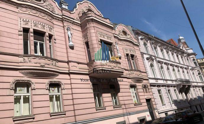 BA I Staré Mesto Tolstého ul. centrum prenájom 136 m2 kancelárskych priestorov