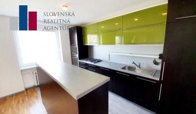 PREDANÉ: na predaj slnečný, 2i byt, 3./5p., tehla, 67m², výborná poloha, Ružinov - Trenčianska ul.
