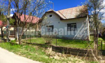 PREDAJ: Dvojizbový dom pri potoku, 115 m2, Brezno - Zadné Halny