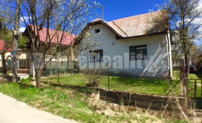 PREDAJ: ZNÍŽENÁ CENA - dvojizbový dom pri potoku, 115 m2, Brezno - Zadné Halny