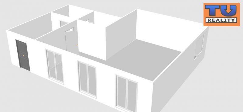 Priestor pre obchod a služby, výmera 81 m2, parkovacie státia + vlastný pozemok, Biely Kostol, okr. Trnava. CENA: 100 900,00 EUR