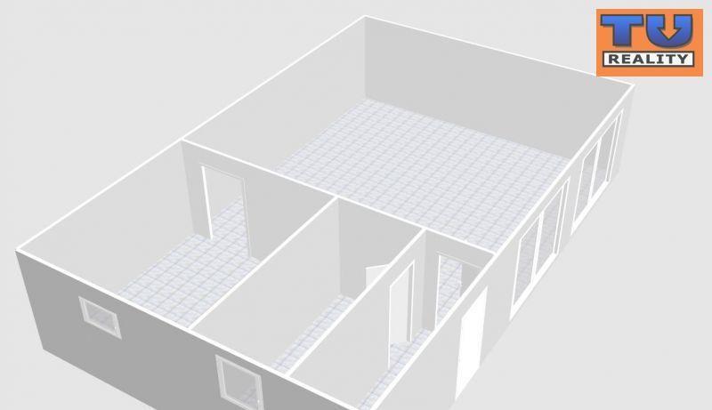 Priestor pre obchod a služby, výmera 52 m2, parkovacie státie + vlastný pozemok, Biely Kostol, okr. Trnava. CENA: 73 900,00 EUR