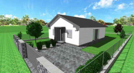 Predaj - NOVOSTAVBA - 3 izbový rodinný dom v obci Svätý Peter . ODPORÚČAM !