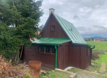Záhradná chata kúsok od centra