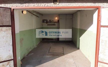 Na predaj garáž na ulici Tyršová v Nových Zámkoch