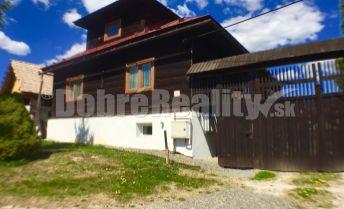 PREDAJ: Horehronská drevenica s priestorom pre oddych a relax, 244 m2, Polomka, okres Brezno
