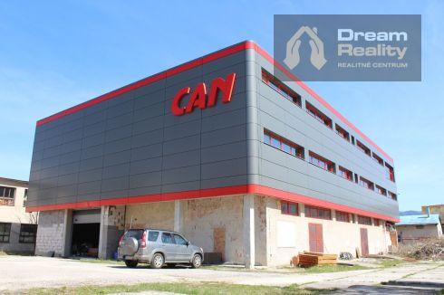 Výrobno-skladová budova v Rajci
