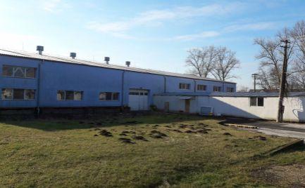 Predám priemyselný (výrobno-skladovací) areál, haly - 25km od Nitry, Obsolovce.