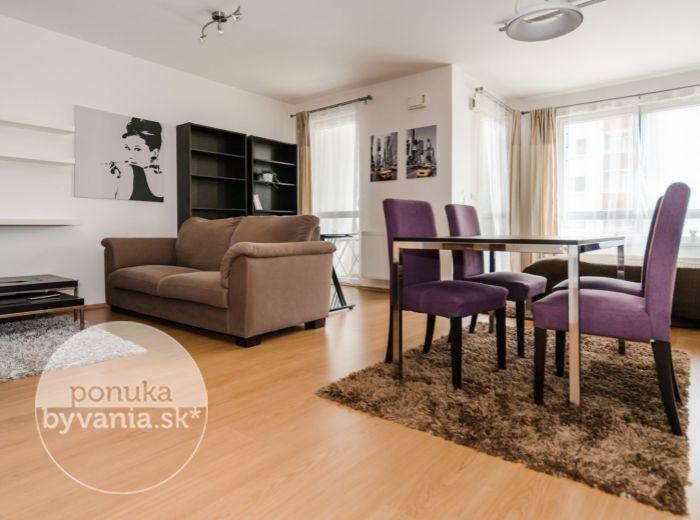 REZERVOVANÉ - KAŠTIEĽSKA, 1-i byt, 54 m2 - TEHLOVÁ NOVOSTAVBA, kompletne zariadený, NÍZKE MESAČNÉ NÁKLADY