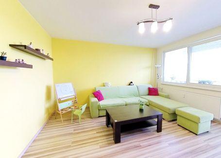 REZERVOVANÉ | Slnečný 4izbový byt, Centrum II, Dubnica nad Váhom 83m2
