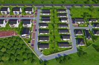 Novostavby rodinných domov v novovybudovanej lokalite