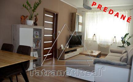 PREDANÉ - 4 izbový zrekonštruovaný byt na lukratívnom mieste