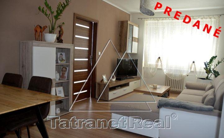 REZERVOVANÉ - 4 izbový zrekonštruovaný byt na lukratívnom mieste