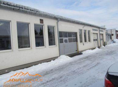 Prenájom výrobno  - skladovacích priestorov v Poprade
