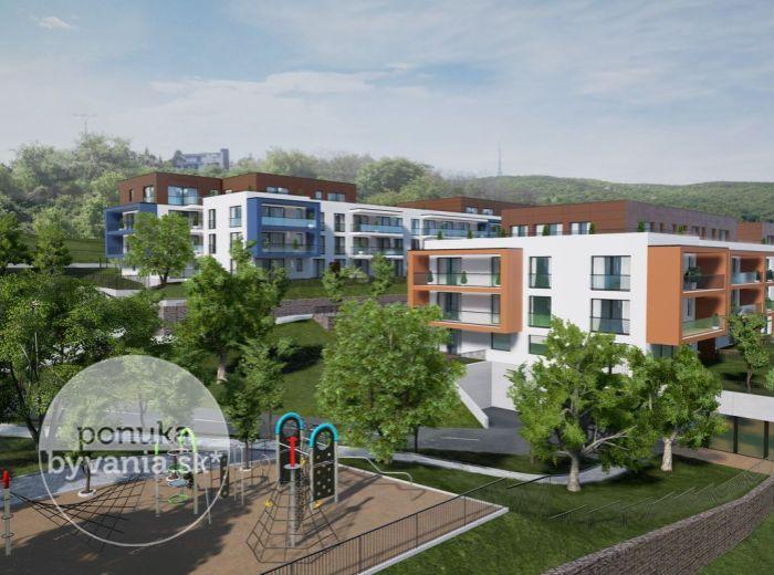 GRAND KOLIBA rezidencie – 2-i byt, 70 m2 - technologický NADŠTANDARD, park, fontána, VÝHĽADY