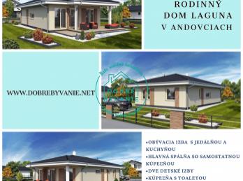 Ponúkame na predaj novostavbu rodinného domu v obci Andovce