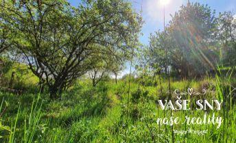 Záhradný pozemok s vlastnou studňou v oblasti Chrasť - sídlisko Juh