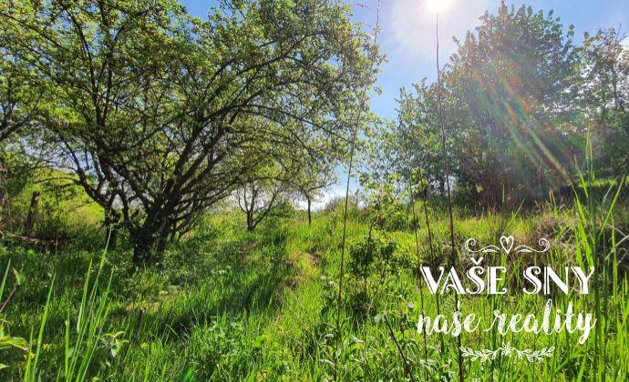 REZERVOVANÉ! Záhradný pozemok s vlastnou studňou v oblasti Chrasť - sídlisko Juh