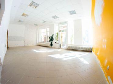 Na prenájom obchodný priestor, 105 m², Dulovo nám., v blízkosti AS Nivy, voľné od 1.9.2020