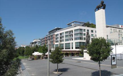 PRENÁJOM 2 izb. byt, EUROVEA, PRIBINOVA ul., BA I STARÉ MESTO, výhľad na DUNAJ - EXPIS REAL