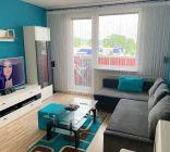 1 izbový byt  Topoľčany s dvoma balkónmi / VYPLATENA ZALOHA