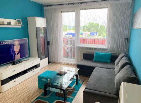 1 izbový byt  Topoľčany s dvoma balkónmi