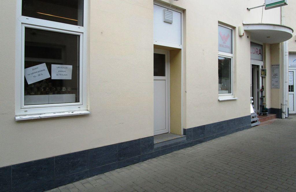 Odstúpenie prevádzky - obchodu 55 m2, Nitra- centrum