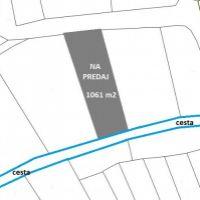 Rekreačný pozemok, Horné Srnie, 1061 m²