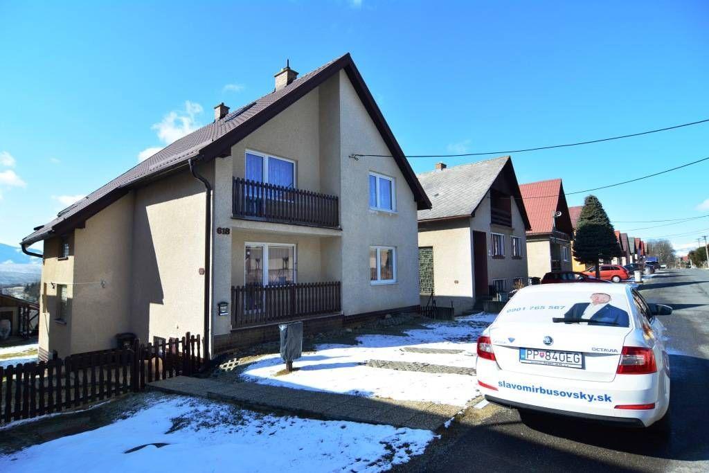 PREDANÉ rodinný dom Štrba, 2 samostatné bytové jednotky s rozlohou 100 m2 - 38