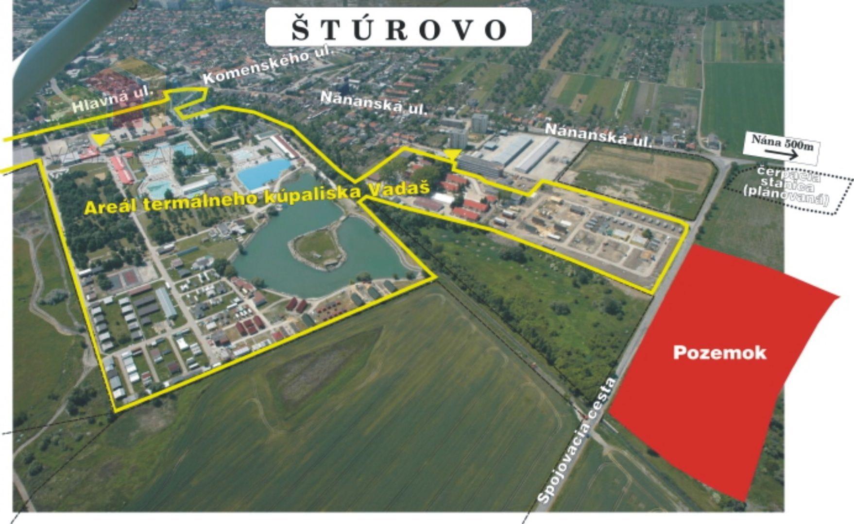 Rekreačný pozemok-Predaj-Štúrovo-358520.00 €